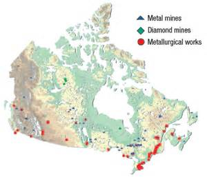 map of mines in canada publications and reports nrcan additional statistics
