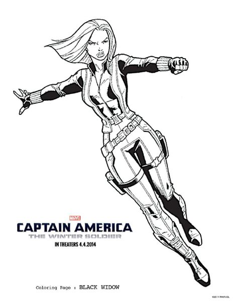 free captain america coloring pages and activity pack