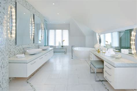 Modern Interior Design Bathroom Contemporary Master Bedroom Ensuite Bath Contemporary