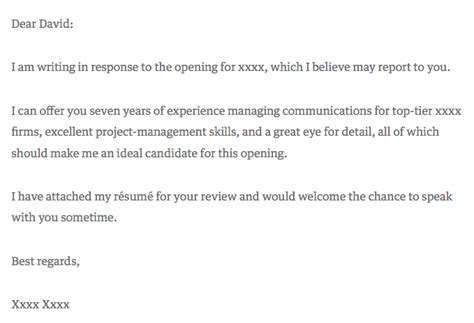 Commitment Letter To Manager How To Write A Cover Letter That Gets You The Template Exles