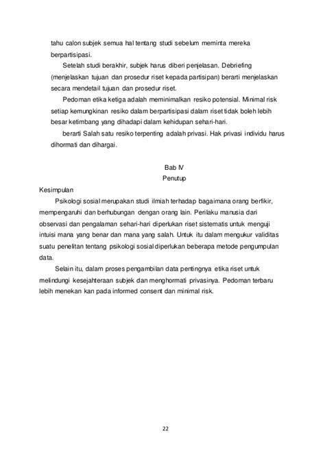 Membuat Makalah Penelitian Sosial | makalah metode penelitian dalam psikologi sosial