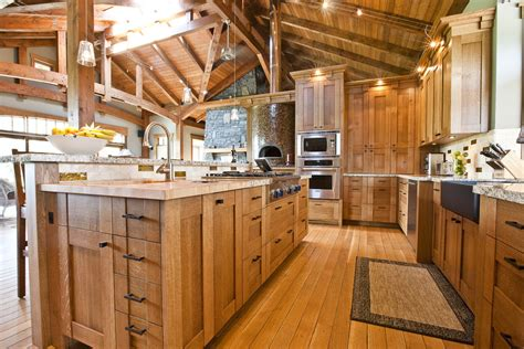 rustic oak kitchen cabinets 4 materials for rustic kitchen cabinets midcityeast