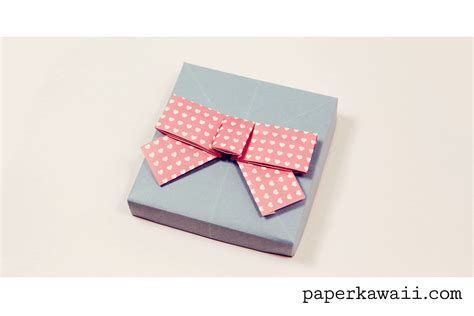 Origami Kawaii - origami bow tutorial paper kawaii