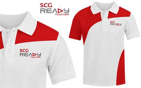 design a uniform shirt scg course program brand identity and uniform design