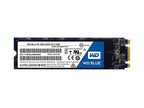Ssd Wd Blue 500gb Sata3 2 5 western digital wd blue 500gb m 2 ssd wds500g2b0b