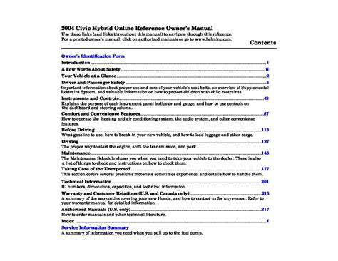 car repair manuals online pdf 2004 honda accord navigation system honda accord 2004 owners manual pdf fiat world test drive