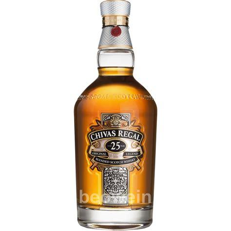 chivas regal chivas regal 25 year original 0 7 l whisky beowein