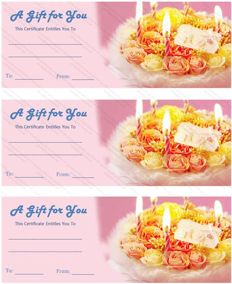free printable gift certificates for cakes pin printable certificate cake on pinterest