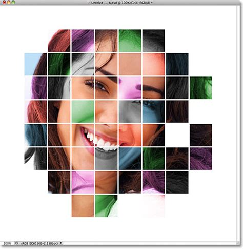 color effects for pictures color grid design in photoshop