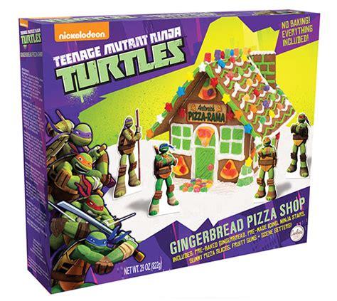 ninja turtle house teenage mutant ninja turtles gingerbread house kit
