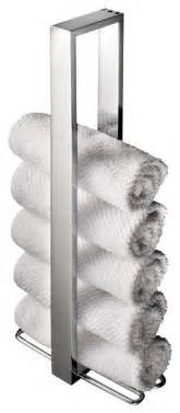 Ws bath collections skuara vertical towel holder