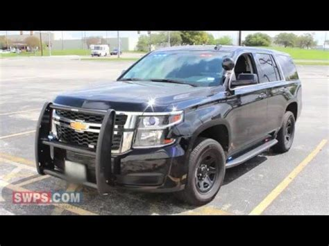 2016 chevy tahoe ppv outfitted with leds/police equipment