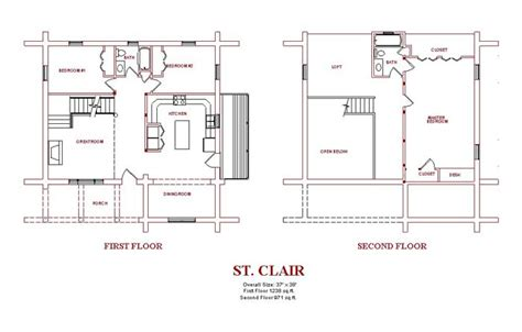 gambrel house floor plans log home design plans