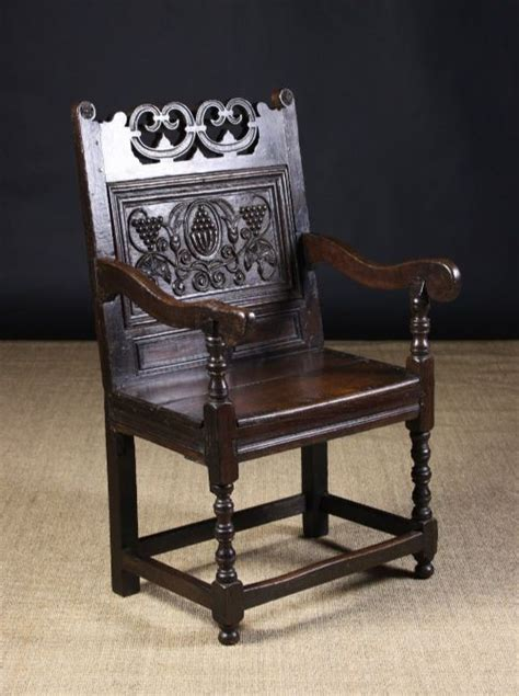 Wainscot Chairs For Sale south lancashire cheshire carved oak wainscot chair 1680 1720 and later 392067