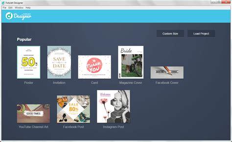 graphics design software reviews fotojet designer review a templatized graphic design