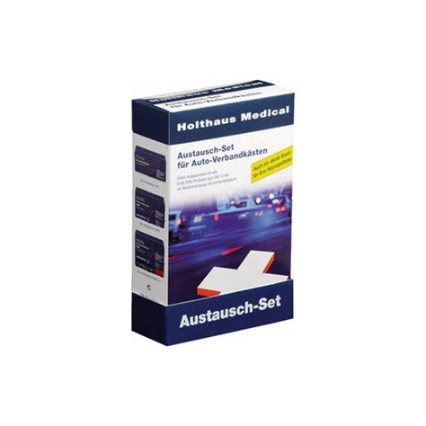 Verbandskasten Auto Neue Din Norm by Erste Hilfe Austauschset F 252 R Sterile Produkte Zur