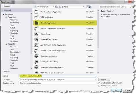 Project Template In Visual Studio 2012 Codeproject Asp Net Web Site Template Visual Studio 2012