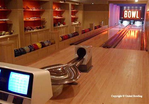 custom installed residential bowling alleys ohgizmo