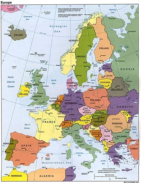 map of surope maps of europe map of europe in political