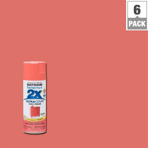 house spray painter rust oleum painter s touch 2x 12 oz gloss kona brown