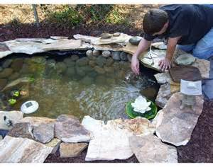 Building A Small Backyard Pond How To Build A Pond Easily Cheaply And Beautifully The