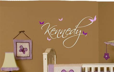 Nursery Name Decor Name Wall For Nursery Baby Butterfly Name Wall Decal Nursery Decor Baby Nurseries
