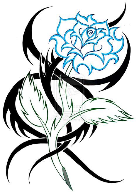 tribal pattern rose flower tribal designs clipart best