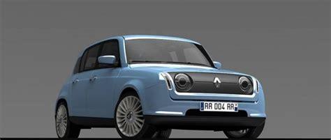 nuova renault r4 2014 render di david obendorfer auto