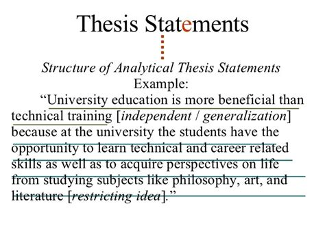 thesis about early childhood education thesis statement on early childhood education