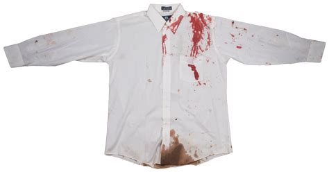 Blood A White Shirt by Lot Detail Tupac Shakur Quot Related Quot Screen Worn With Blood Stain 3 White Shirts