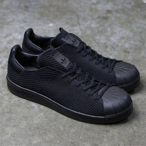 adidas bounce black adidas men superstar bounce primeknit black core black