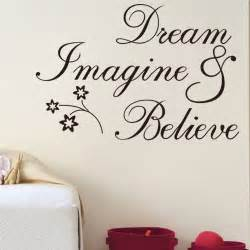 Inspirational Wall Decor by Free Shipping Inspirational Words Believe Removable