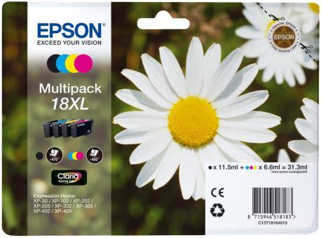 Tintenpatronen Epson 2544 by Epson 18xl Multipack G 252 Nstig Kaufen Tintenpatronen