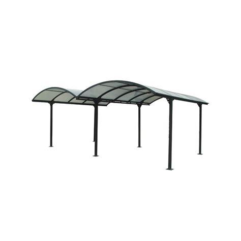 tettoie in alluminio e policarbonato tettoia in alluminio e policarbonato 485x600x250 h