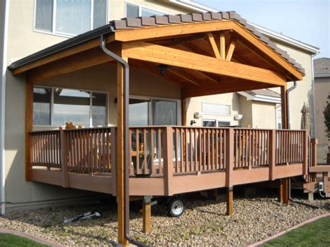 Design For Decks With Roofs Ideas Roof Covers Protect Your Deck In The Winter Decktec Outdoor Designs