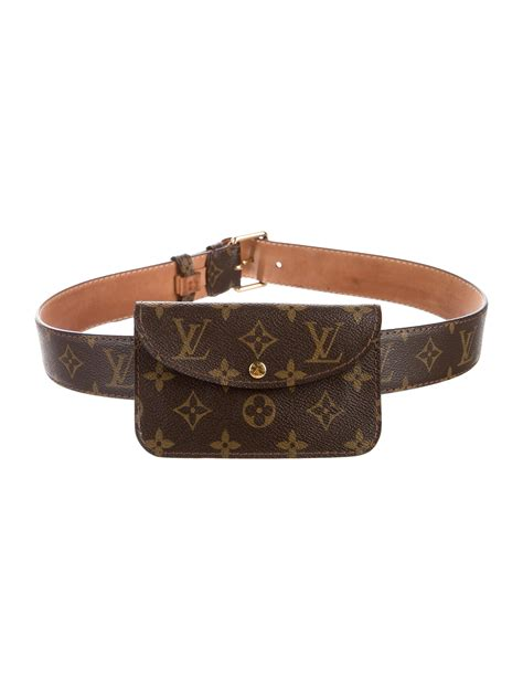 louis vuitton monogram belt bag accessories lou