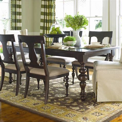 Paula Deen Dining Room Furniture by 932653 Universal Furniture Paulas Table Tobacco