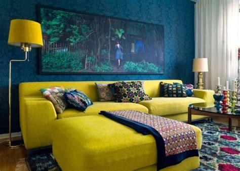 150 coole tapeten farben ideen teil 1 archzine net - Gelbe Und Blaue Schlafzimmer Dekorieren Ideen