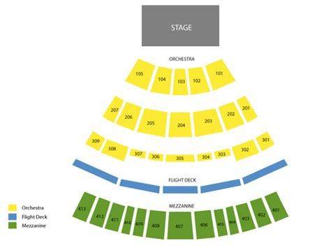 verizon theater seating chart