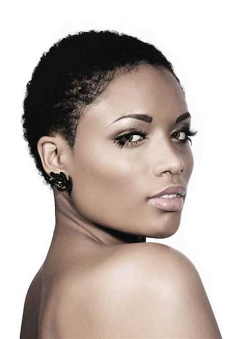 pictures of very low cut hairstyles for natural hair 15 new short curly haircuts for black women short