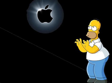 wallpapers apple homer simpson homer wallpapers wallpaper cave
