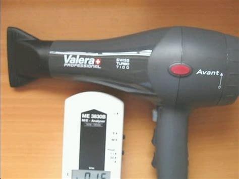 valera professional hair dryer electromagnetic radiation