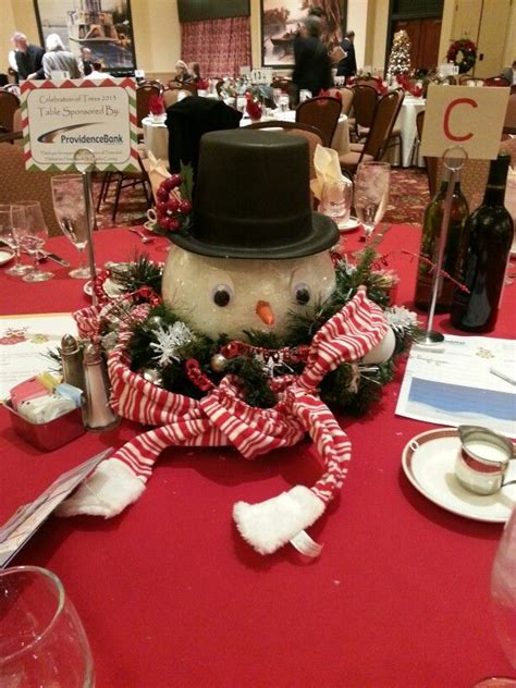 snowman centerpiece crafts centerpieces and snowman