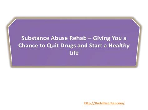 Substance Abuse Detox Topics by Substance Abuse Rehab Giving You A Chance To Quit Drugs