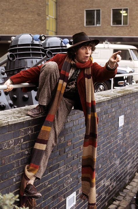 doctor who scarf on doctor who knitting
