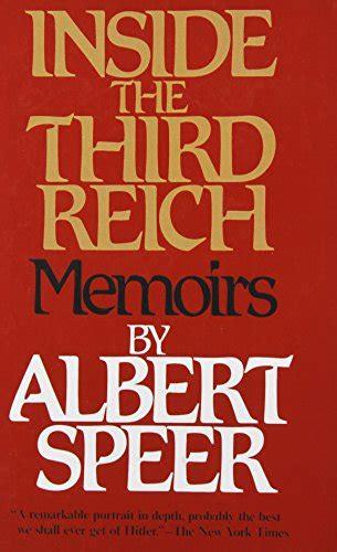 libro the third reich libro inside the third reich memoirs di albert speer