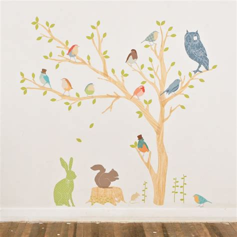sticker trees for walls decal8 designer interior wall stickers fabric build a
