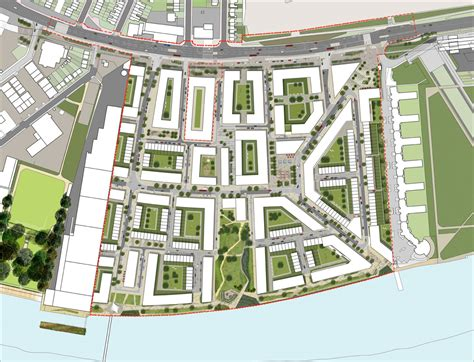 thames barrier park development royal wharf oxley holdings new business district 12