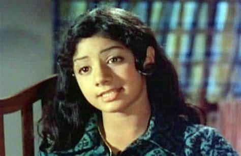 sridevi first movie pix the changing faces of sridevi rediff movies