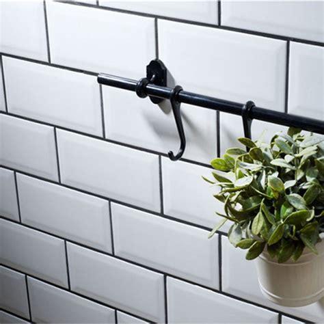Metro White Wall Tiles 10 x 20cm   Stonetrader.co.uk